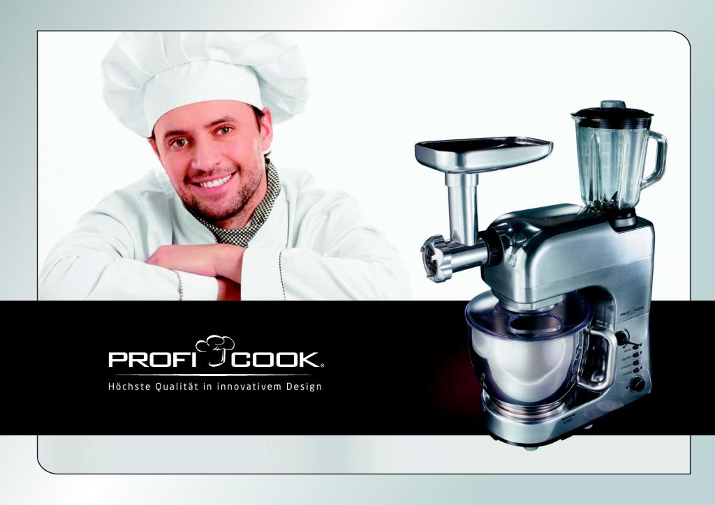 Profi Cook Booklet English 2012
